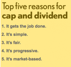cap & dividend 5 top reasons