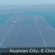 Huainan City, China boasts world's largest floating solar farm