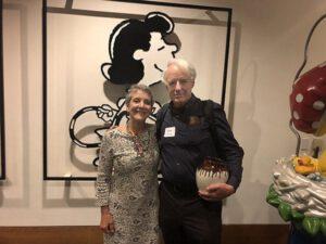 Ann Hancock and Adam Hochschild