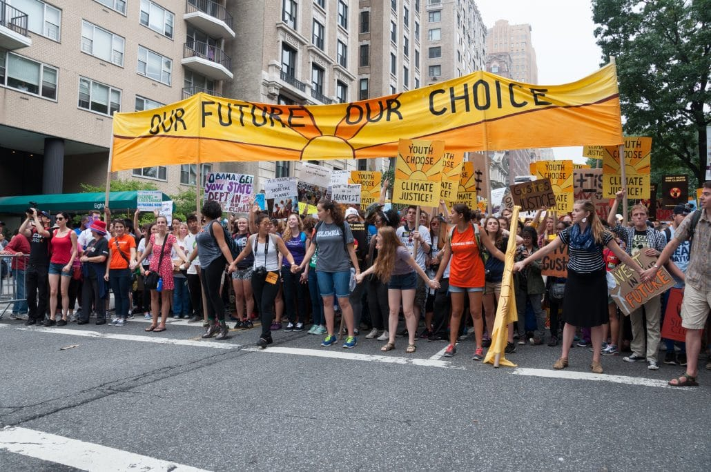 The youth climate response – when impatience is a virtue - The Climate  Center