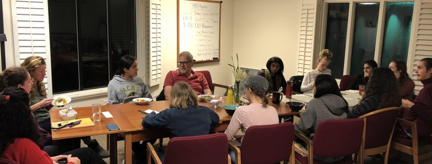 Youth Advisory Board speaking with climate scientist Carl Mears.