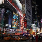 """Times Square, New York City"" by tomanob is licensed under CC BY 2.0"