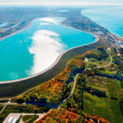 Ludington Pumped Storage Facility in Michigan. Image by Consumers Energy