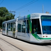 Clean Transportation, by DAVID ILIFF, found on https://en.wikipedia.org/wiki/Sustainable_transport#/media/File:C_Class_Tram,_Melbourne_-_Jan_2008.jpg