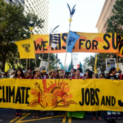 Rise for Climate march in San Francisco by Sunshine Velasco -Survival Media Agency