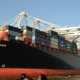 Container Ship at the Port of Oakland, Image from Wikipedia by Minette Lontsie