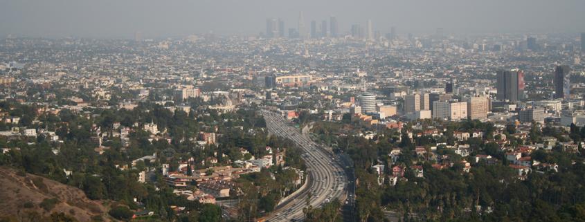 Los Angeles Smog by Massimo Catarinella