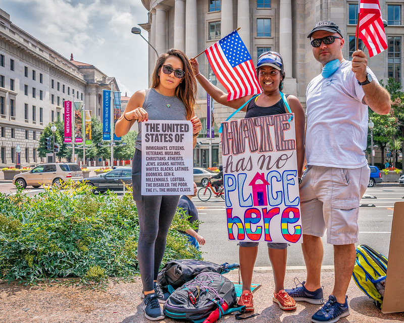 Washington DC protest 2018 by Mobilus In Mobili