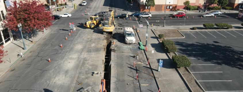 A 10-block stretch of Minor Ave from Center St. and Aurora St. in Stockton is getting a bike- and pedestrian-friendly facelift.