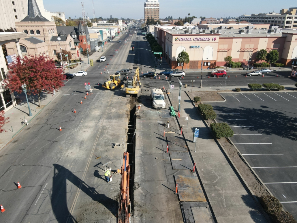 "Minor Ave in Stockton is constructing ""complete streets"" by City of Stockton"