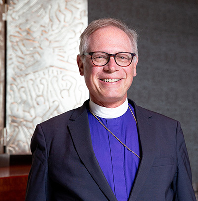 Rt. Rev. Dr. Marc Handley Andrus, Bishop of the Episcopal Diocese of California